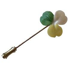 Shamrock Hat Pin