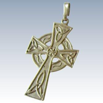 10Kt Gold Cross - Ireland