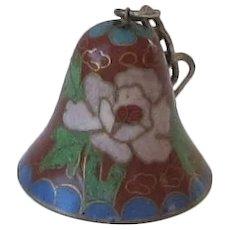 Vintage Cloisonne'  Bell