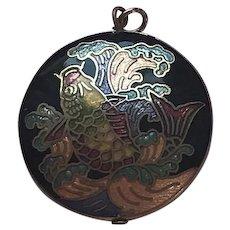 Cloisonné' Fish Pendant