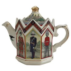 "Sadler ""The Tower of London"" Tea Pot"