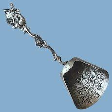 Vintage Sterling Silver Shovel Scoop Spoon
