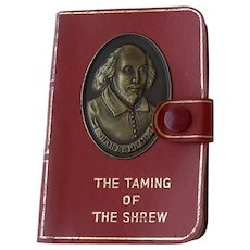 "Small Book ""The Taming of the Shrew"" by William Shakespeare"