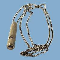 Whistle Pendant, Necklace