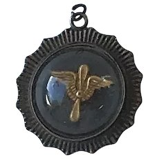 WWII US Army Aviation Badge Sweetheart Locket