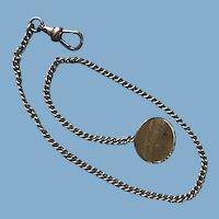 Vintage 10 K G. F. Watch Fob Chain