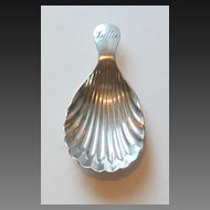 Child's Antique Baptism Shell
