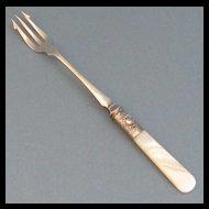 MOP Sterling Silver Pickle Fork