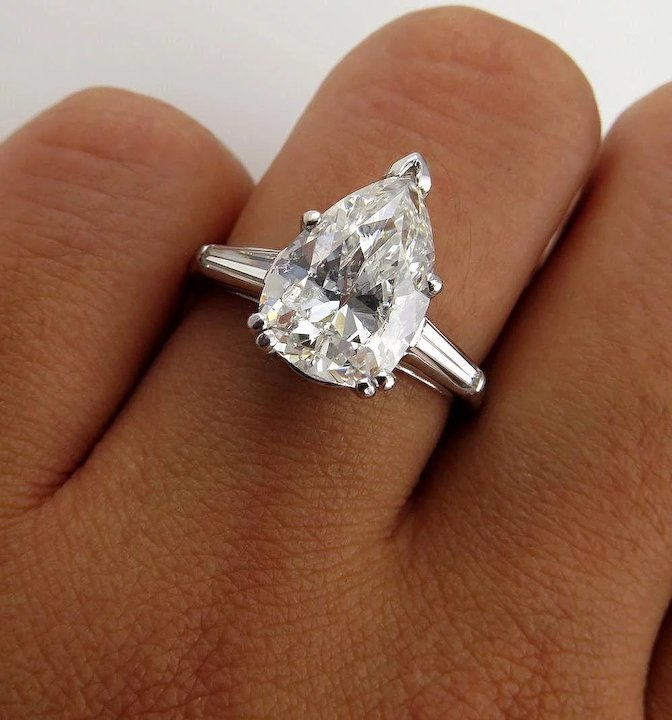 ring vintage diamond photo one colorless gallery fullxfull listing near efkm moissanite engagement il forever rings