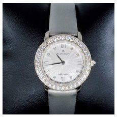 Swiss Pre-Owned Blancpain Diamonds Self-winding Automatic 18k White Gold Ladies WATCH
