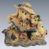 Boyds Daphne Eloise Womens Work Hare Bearstone Series Bunny Rabbit