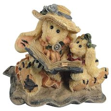 Boyds Daphne Eloise Womens Work Hare Bearstone Series Bunny Rabbit