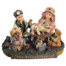 Boyds Bears Dollstone Animal Hospital Limited Edition