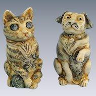 Harmony Kingdom Pet Parade Set Cat Dog Mini Treasure Jests