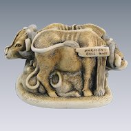 Harmony Kingdom Harmony Bull Treasure Jest Limited Edition