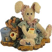 Boyds Hare Amelia's Enterprise Bearstone Series