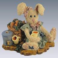 Boyds Hare Amelia's Enterprise Bearstone Series