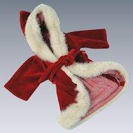 Boyds Bear Santa Claus Robe Medium Size Rare Dolls Bears