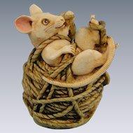 Harmony Kingdom Alexandre Mouse Treasure Jest Limited Edition Box