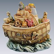Harmony Kingdom Y2HK Millennium Limited Treasure Jest