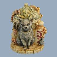 Harmony Kingdom Night Light Cat Limited Edition Treasure Jest
