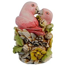 Harmony Kingdom Love Nest Lovebirds Romance Limited Edition Love