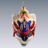 Margaret Cobane Glass Angel Ornament by Scottish Christmas