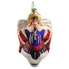 Margaret Cobane Glass Angel Ornament by Scottish Christmas