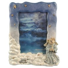 Boyds Bearstone Frame Starla Angelhope Guiding Light 1E
