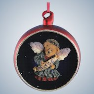 Boyds Bear Ornament Serendipity Peace Bearstone Limited Edition