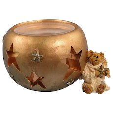 Boyds Starla Angelbeary Votive Holder Bearstone