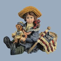 Boyds Dollstone Betsy The Patriots Premiere Edition Vintage