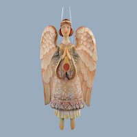 DeBrekht Angel of Hope Ornament Russian Hand Painted