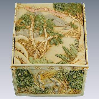 Harmony Kingdom Picturesque Tour Florida Box and Tile Rare