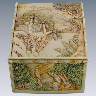 Harmony Kingdom Picturesque Tour Oregon Box and Tile Rare