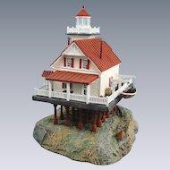 Harbour Lights Lighthouse Roanoke River North Carolina Sculpture