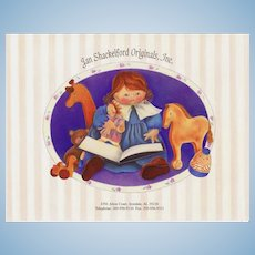 Jan Shackelford Doll Catalogs 1993 1994 1996 Soft Sculpture