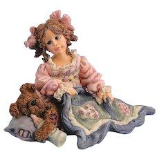 Boyds Dollstone Cheryl Nighty Night 1E Vintage
