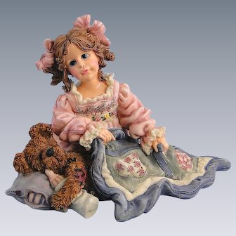 Boyds Dollstone Cheryl Nighty Night 1E Vintage