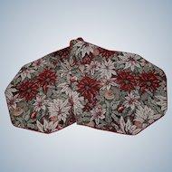 Tapestry Woven Table Runner Poinsettias Christmas