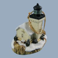 Harbour Lights Burrows Island Washington Lighthouse Ornament