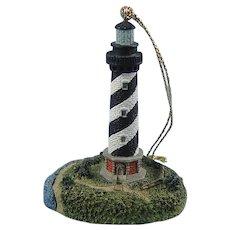 Harbour Lights Lighthouse Ornament Cape Hatteras, North Carolina