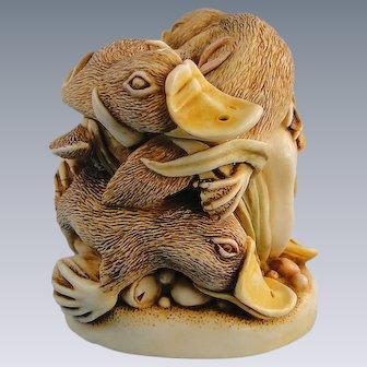Harmony Kingdom Platypus Down Under Treasure Jest