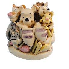 Harmony Kingdom Pooh and Friends Disney Treasure Jest