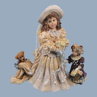 Boyds Dollstone Bride Emily the Future Vintage Premiere Edition
