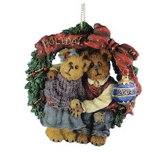 Boyds Bears Ornament Holly and Barry Limited Edition 1E