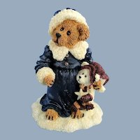 Boyds Genevieve Berriman Christmas Bearstone Vintage
