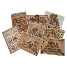 Boyds Bears Eight Greeting Cards Premiere Edition Set