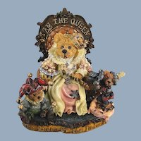 Boyds Elizabeth Queen Bearstone Special Event