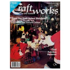 Craftworks for the Home Magazine September 1987